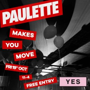 paulette makes you move