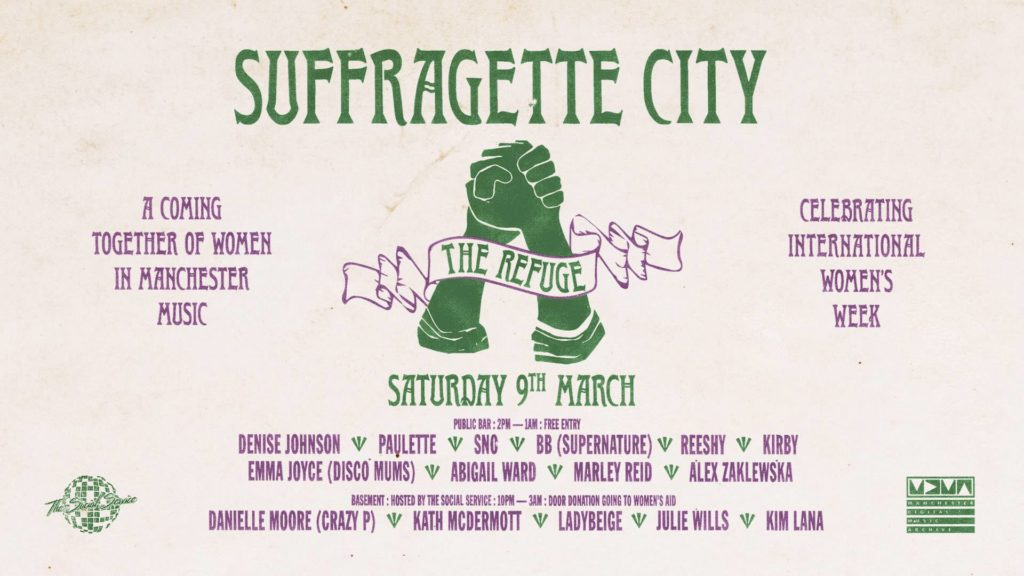 suffragette city 2019