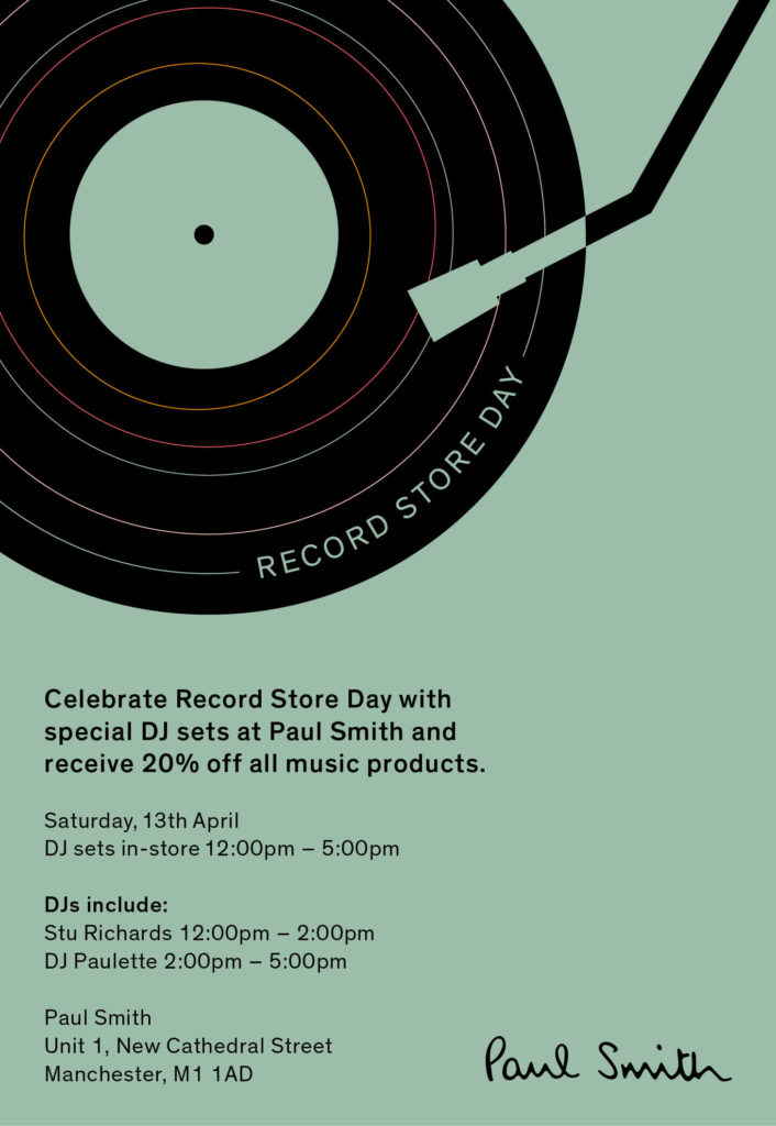 Record Store Day at Paul Smith Manchester